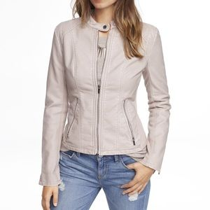 Express Minus The Leather Womens Jacket